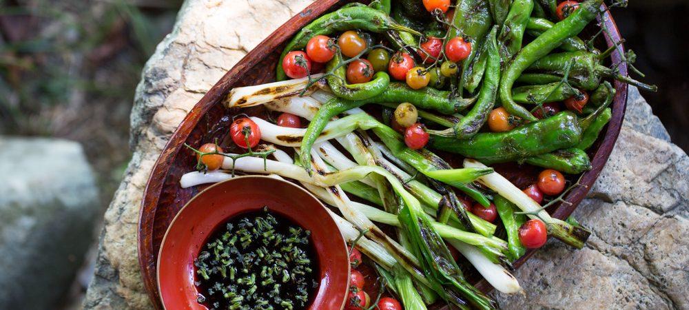 Shindo's Blistered Vegetables Salad