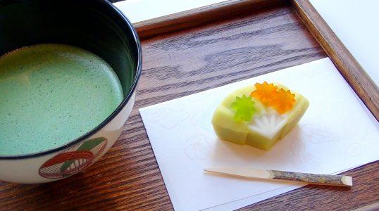Japanese Wagashi Momijigari