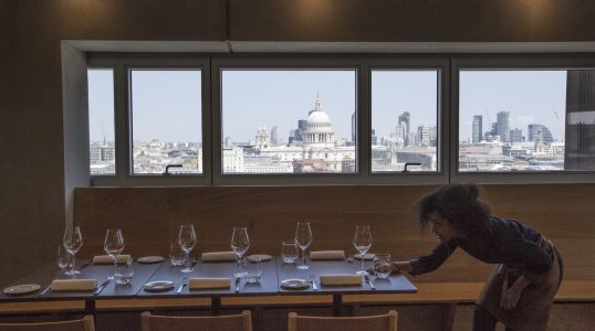 Tate Modern Restaurant (Switch House Level 9)