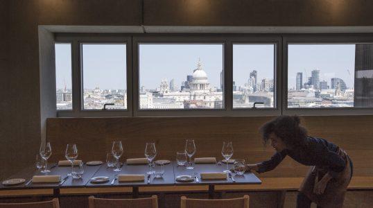 Tate Modern Restaurant (Switch House Level 9)