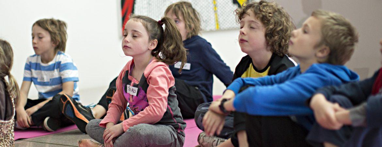 : NGA children's meditation, children's holiday program