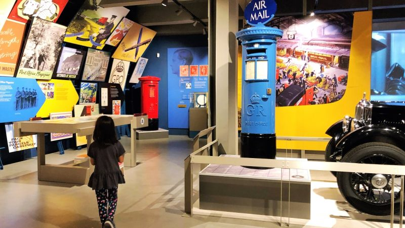 Exploring the permanent exhibition in London's postal museum